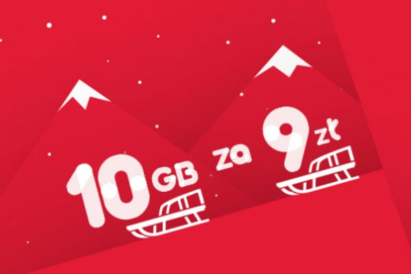 10 GB za 9 zł Virgin