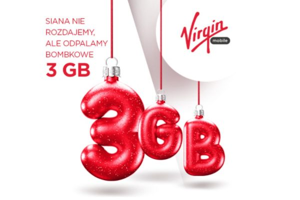 Darmowe 3 GB Virgin