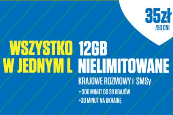 Lycamobile 35 zł