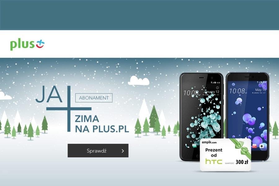 HTC U11 i HTC U Play w Plusie - kody rabatowe 300 zł ...