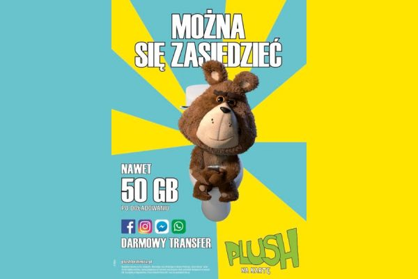 Plush na kartę 50 GB