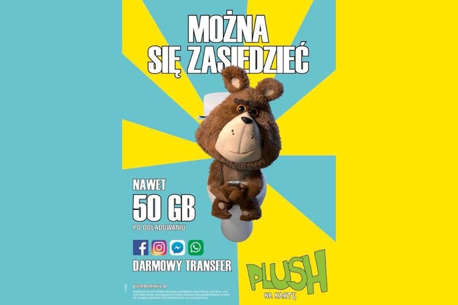 Plush na kartę 50 GB