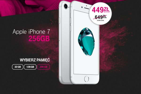 Promocja iPhone 7 T-Mobile