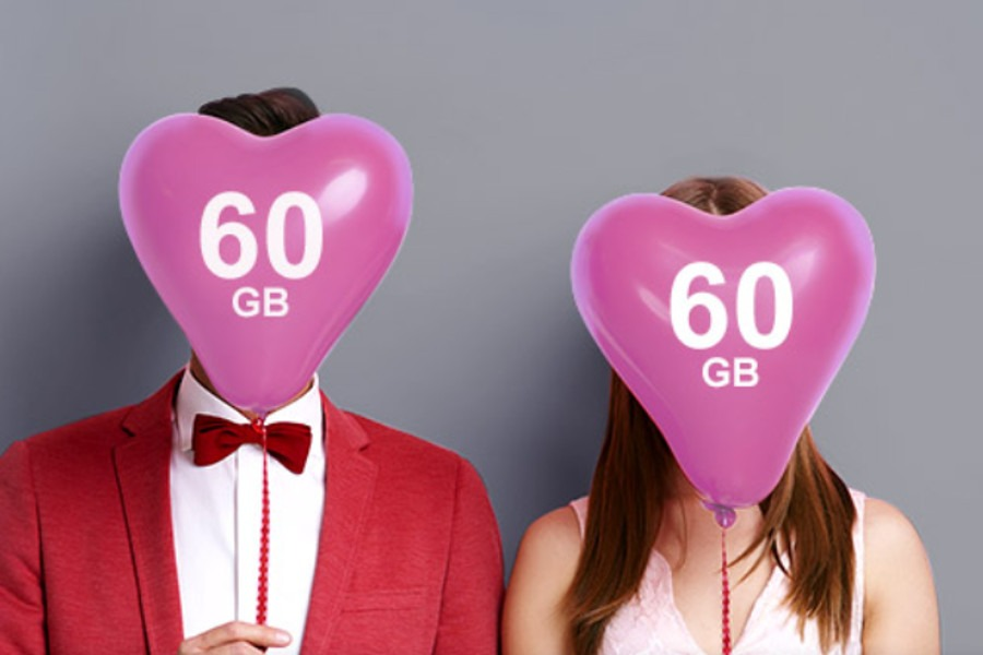 Orange 60 GB