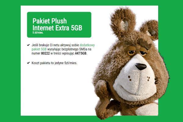Plush 5 GB za 5 zł