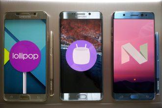 Telefony z Androidem
