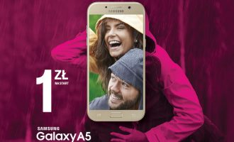 Samsung Galaxy A5 w T-Mobile za 1 zł na start