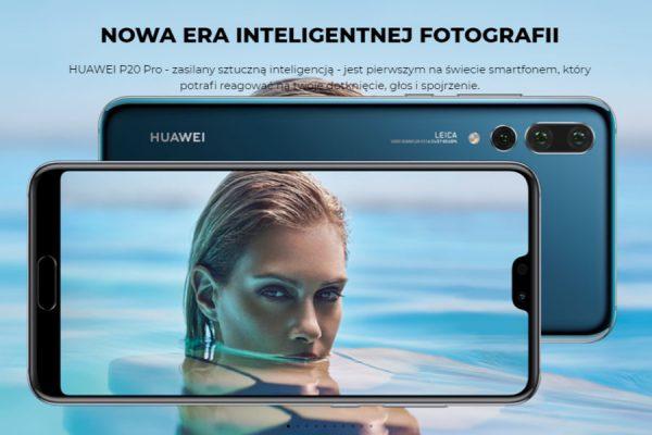 Huawei P20 Pro abonament
