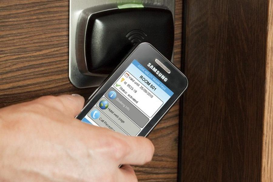Telefony z NFC