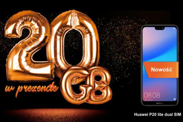 Huawei P20 Lite Orange