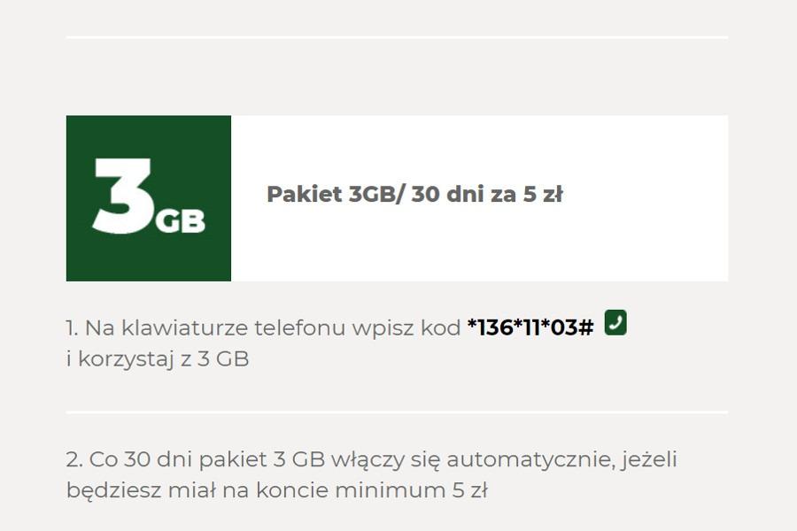 05758df6f84097 3 GB za 5 zł w nowej ofercie Plusa na kartę | Komórkomat.pl