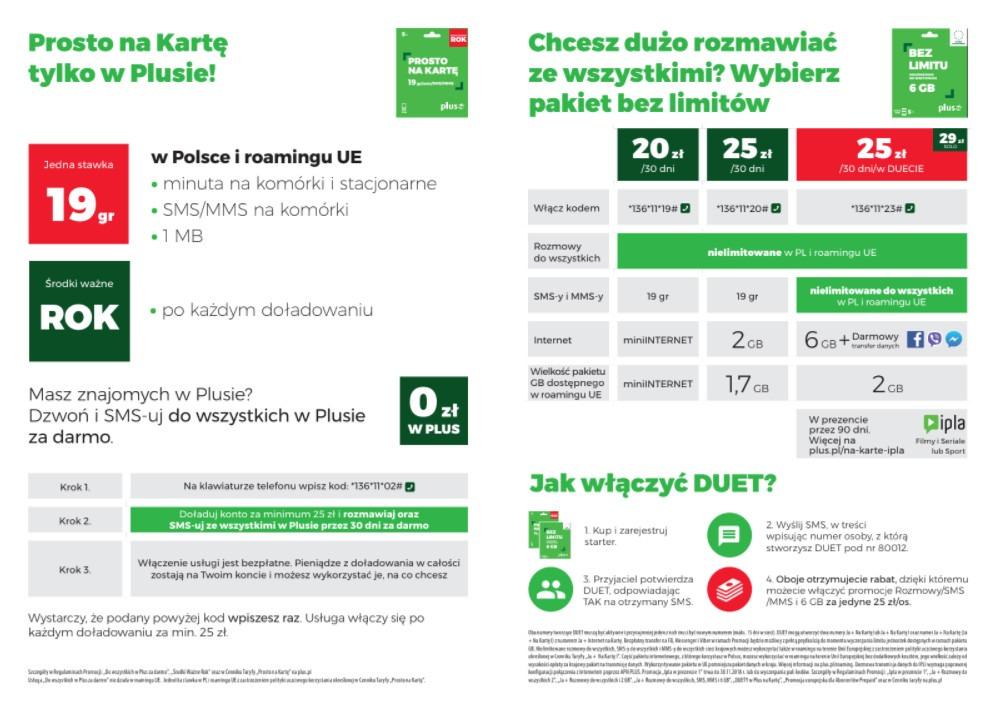 kupować najniższa zniżka buty do biegania 19 groszy za wszystkie usługi w Plus na Kartę w Polsce i UE ...