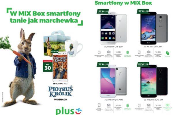 Plus MIX telefony za 1 zł