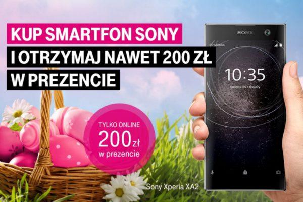 Xperia w T-Mobile - rabat 200 zł
