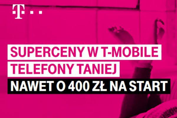 T-Mobile przeceny telefonów