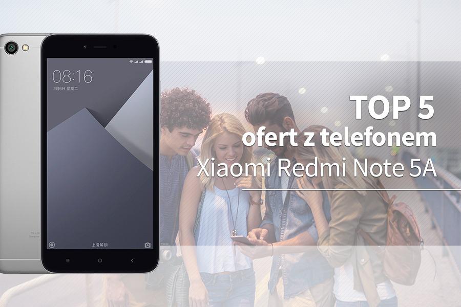 Xiaomi Redmi Note 5A Prime abonament