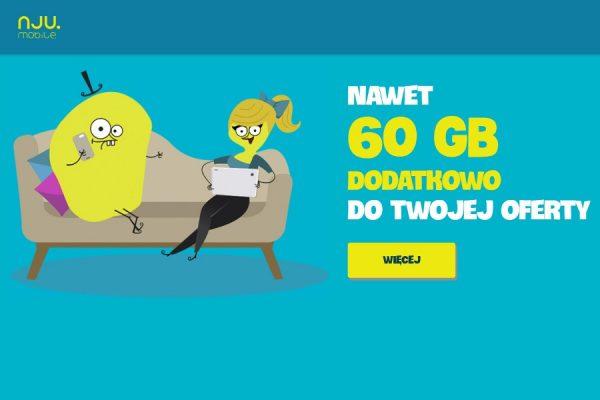 nju internet dodatkowy 60 GB