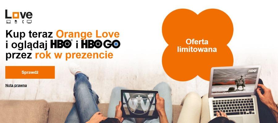 Orange HBO