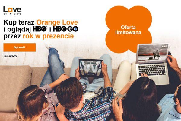 HBO w Orange Love