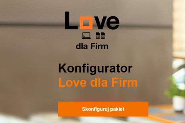 Orange Love dla Firm