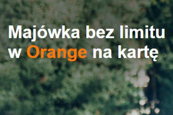 Orange rabaty majówka