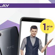 Telefon tygodnia w Play – HTC Desire 12 za 1 zł