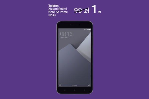 Xiaomi Note 5A Prime abonament