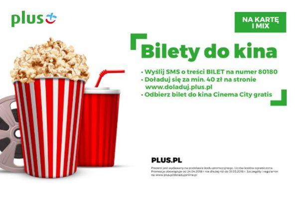 Bilet do kina Plus