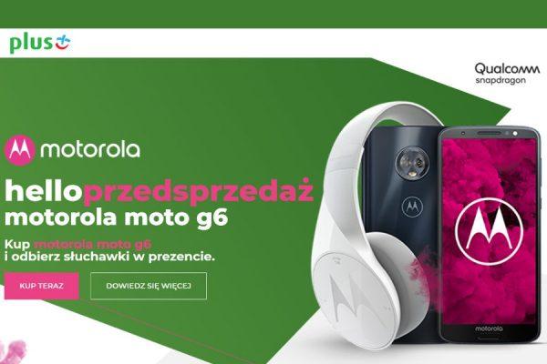 Moto G6 0 zł