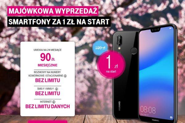 Promocje na majówkę T-Mobile