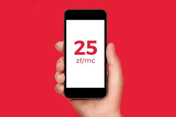 Virgin Mobile 15 GB za 25 zł