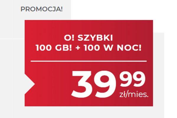 100 GB za 39,99 zł