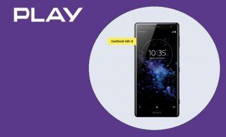 Sony Xperia XZ2 – Cashback 600 zł w Play