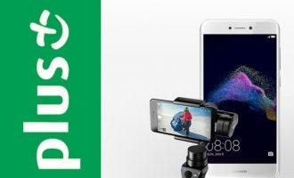 Gimbal + Huawei P9 Lite (2017) w Plusie za 2 zł