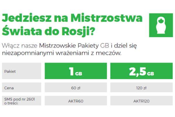 Roaming w Rosji Plus
