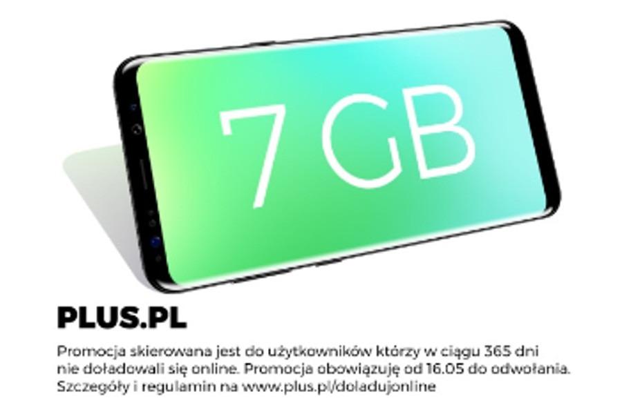 7 GB ekstra w Plusie
