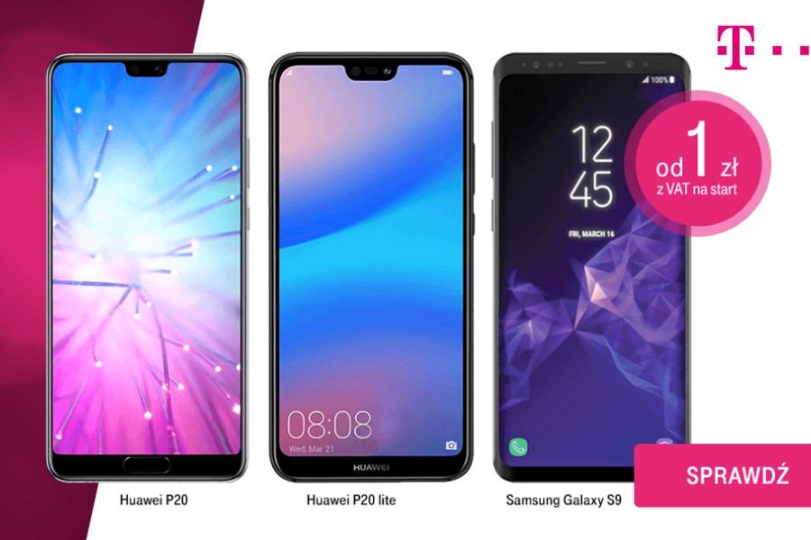 Telefony za 1 zł w T-Mobile firma