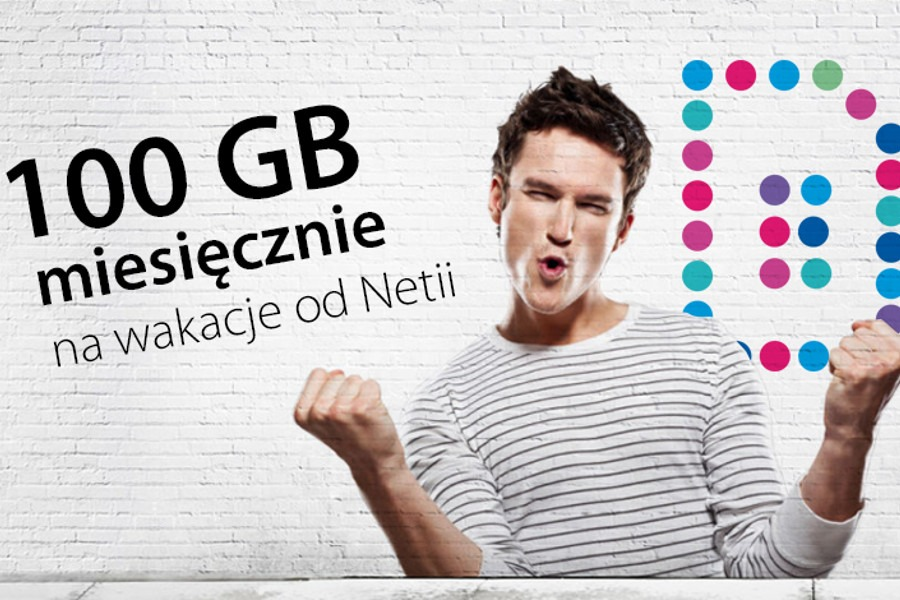 Netia pakiet 100 GB