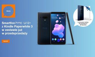 Przedsprzedaż HTC U12+ w Orange od 0 zł