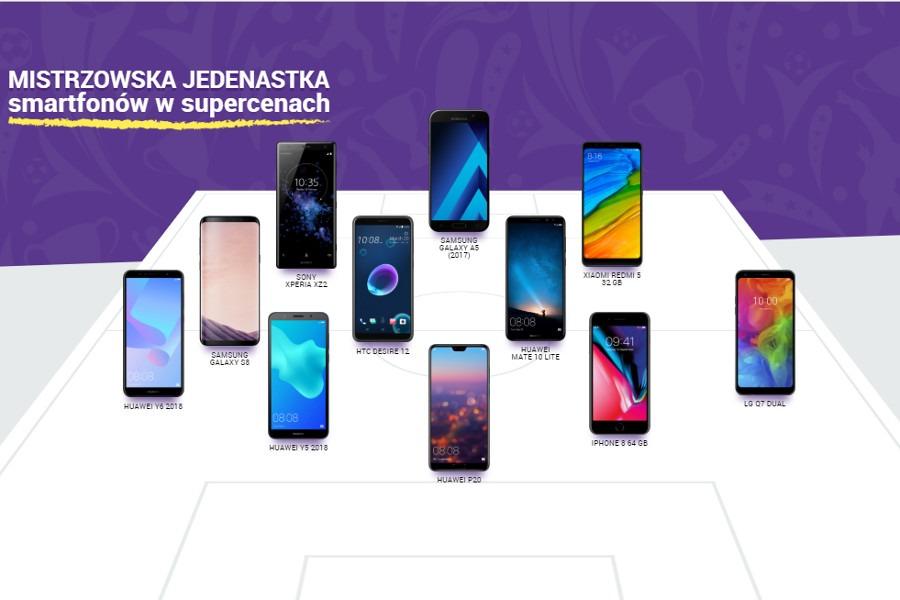 Play 11 smartfonów za 1 zł