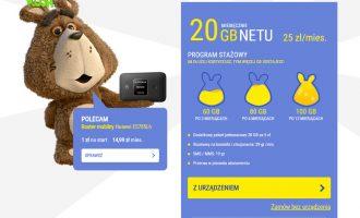 Nowość – 2 pakiety Internetu mobilnego Plusha