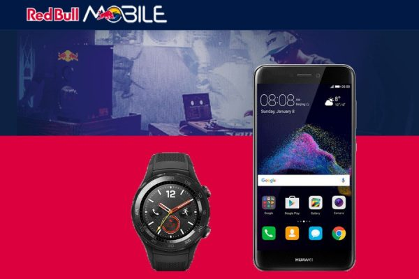 Zestaw Huawei Red Bull Mobile