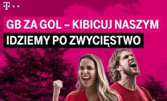 T-Mobile na kartę – 1 GB za każdego gola Polaków na Mundialu