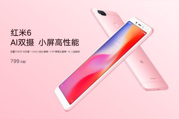 Xiaomi Redmi 6 premiera