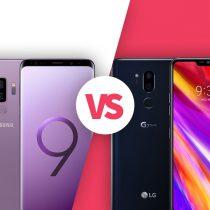 Samsung Galaxy S9 vs LG G7 ThinQ