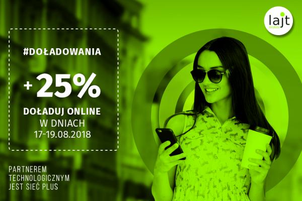 Lajt Mobile +25%