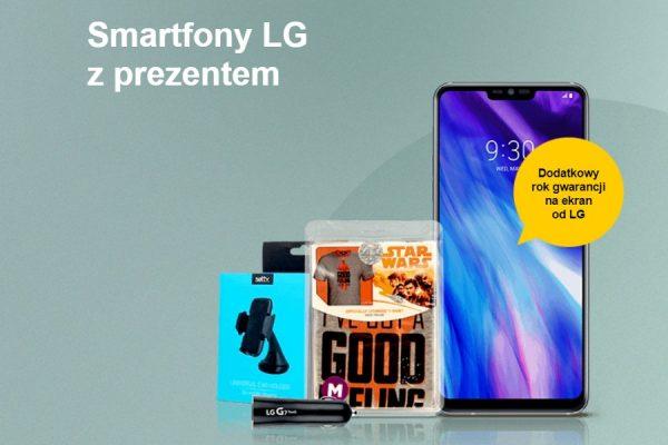 Orange smartfony LG