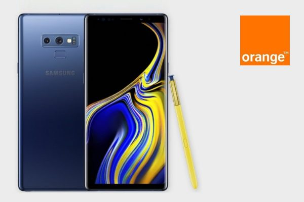 Orange Galaxy Note 9