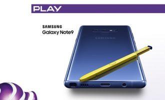 Zwrot 500 zł z Samsungiem Galaxy Note 9 w Play