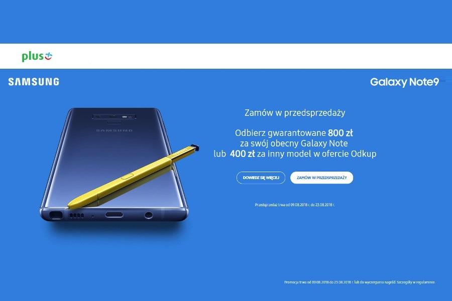 Plus Galaxy Note 9